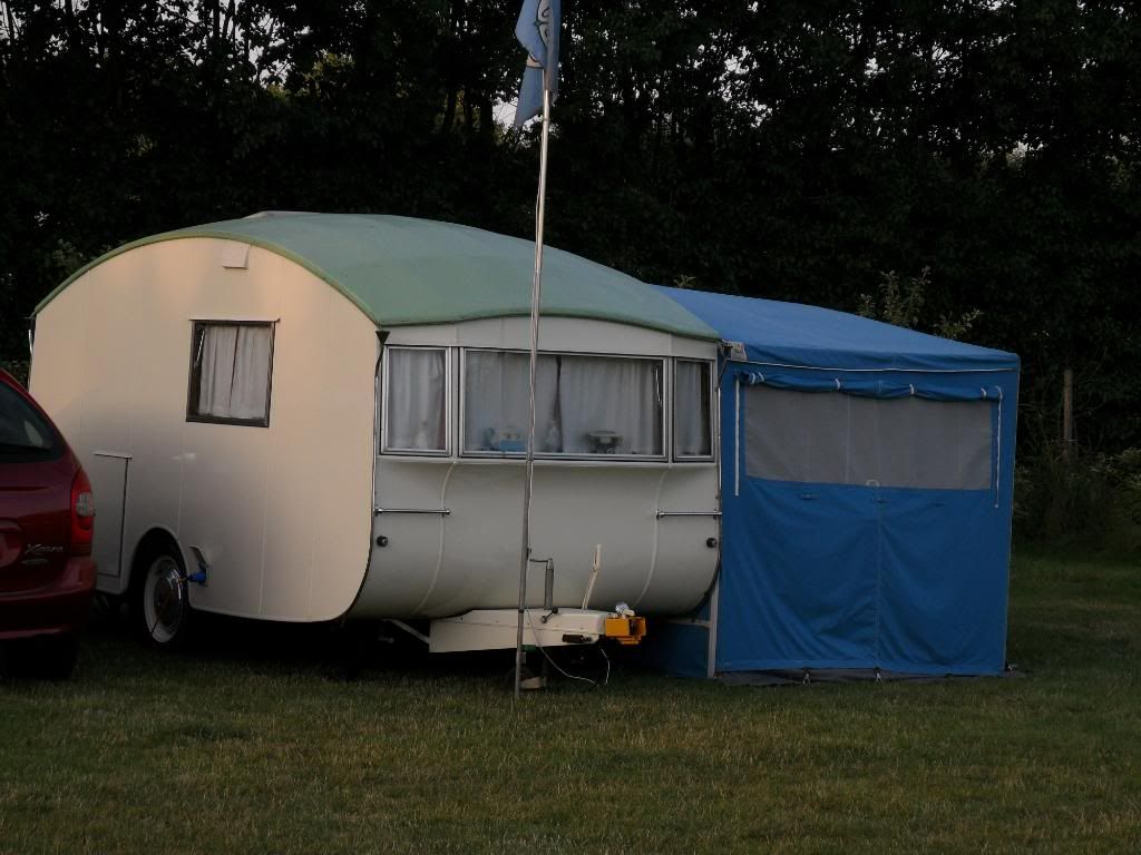 1956 Winchester Pipit Vintage Vans Caravan Awnings