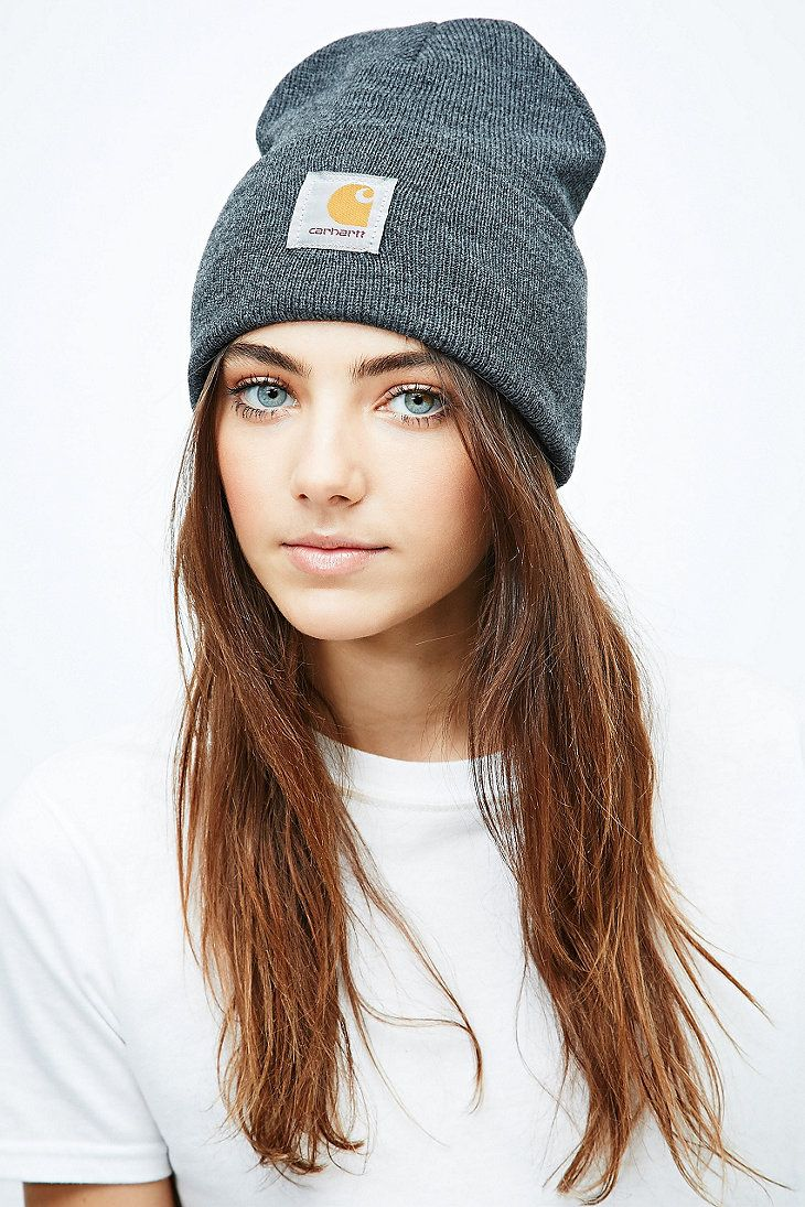 95834fcadec5b Carhartt Watch Hat Beanie in Dark Grey - Urban Outfitters