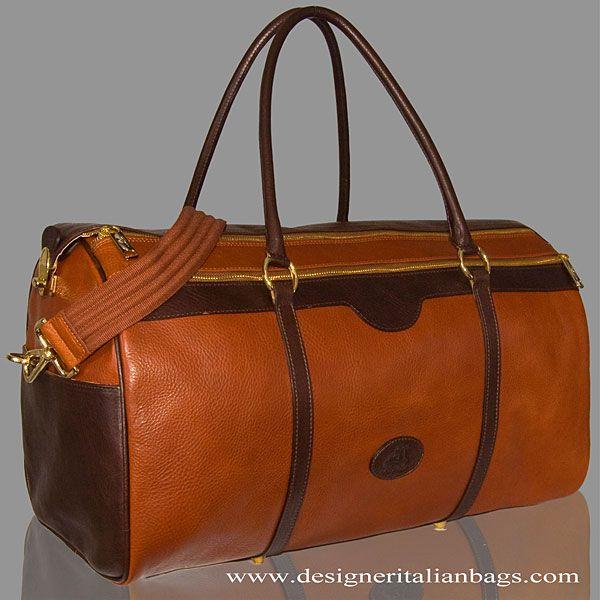 1da53fdf8fd Terrida Italian Designer Sporty Marco Polo Leather Duffle Bag from the  Terrida Classic Man (Everglades) Collection