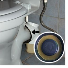 HomeDzine If a toilet drips at the back the seal needs