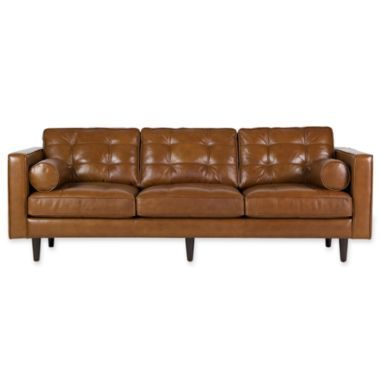 Darrin 89 Quot Leather Sofa Found At Jcpenney For Kitchen
