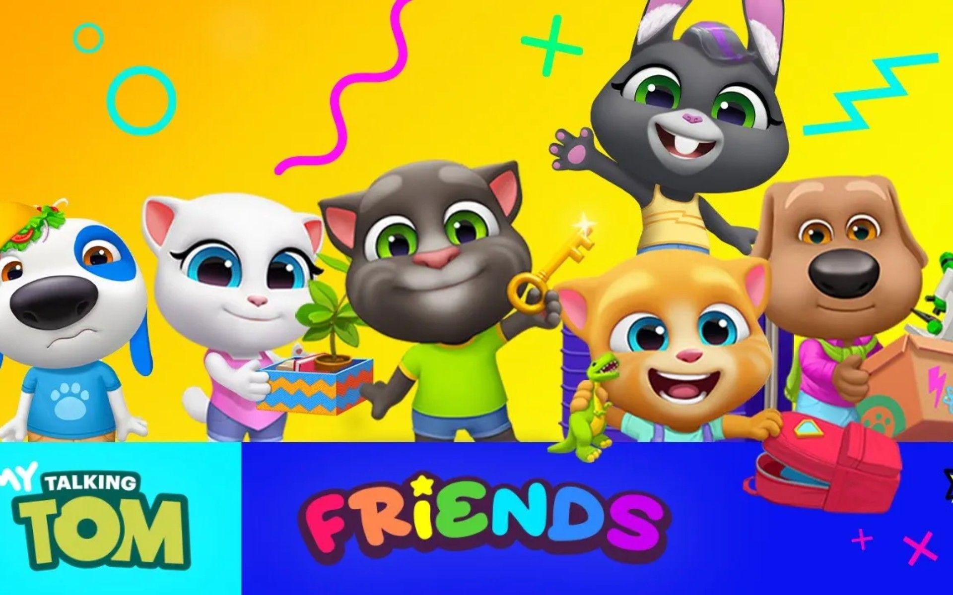 Talking Tom And Friends Festa Infantil Aniversario Infantil