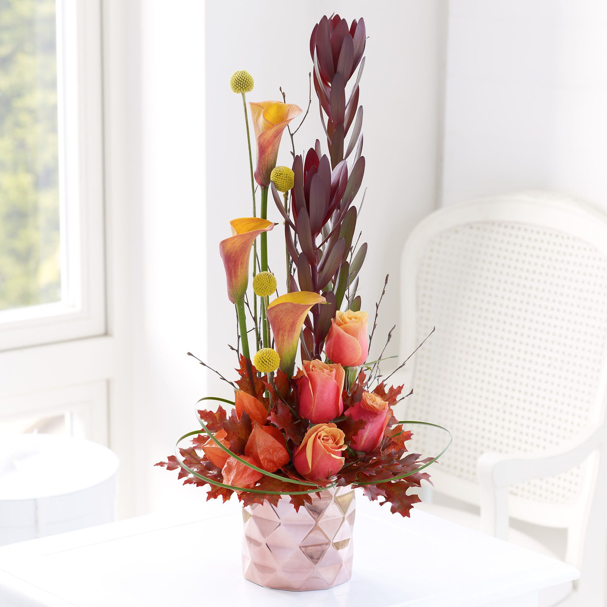 Our Luxurious Calla Lily Arrangement Looks Magical In The Home