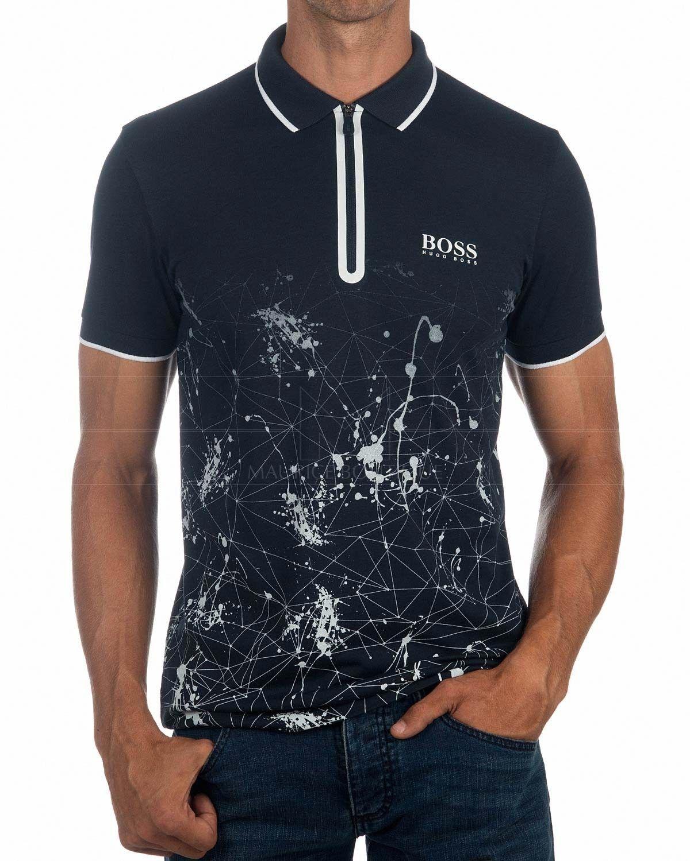 ab3201b3bf2 Tiendas Online De Ropa · Polos HUGO BOSS ® Hombre Prek Pro ✶ Azul Marino |  ENVÍO GRATIS Camisas Hombre,