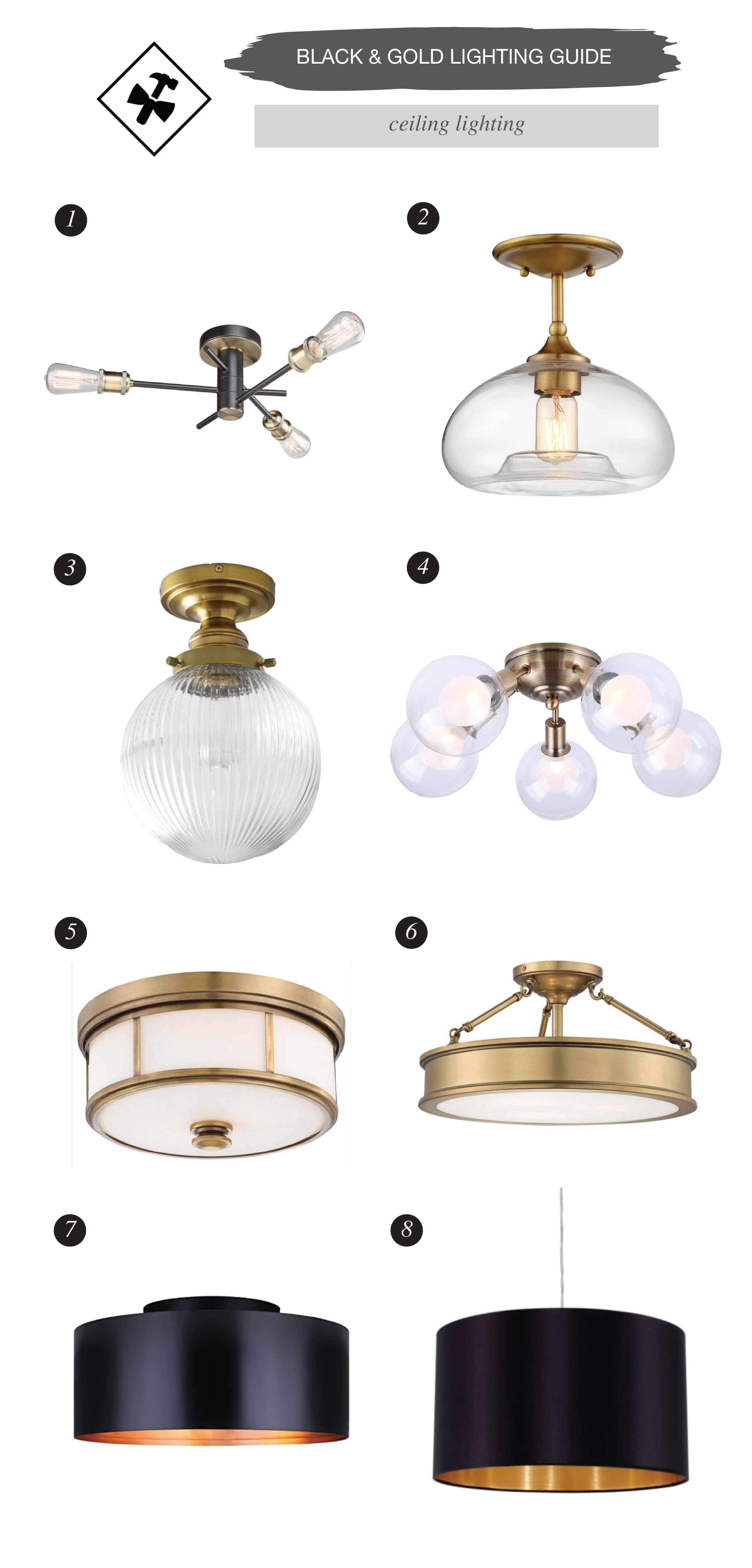 Black And Gold Light Fixture Guide 29 Amazing Options Gold Light Fixture Bathroom Ceiling Light Bathroom Light Fixtures