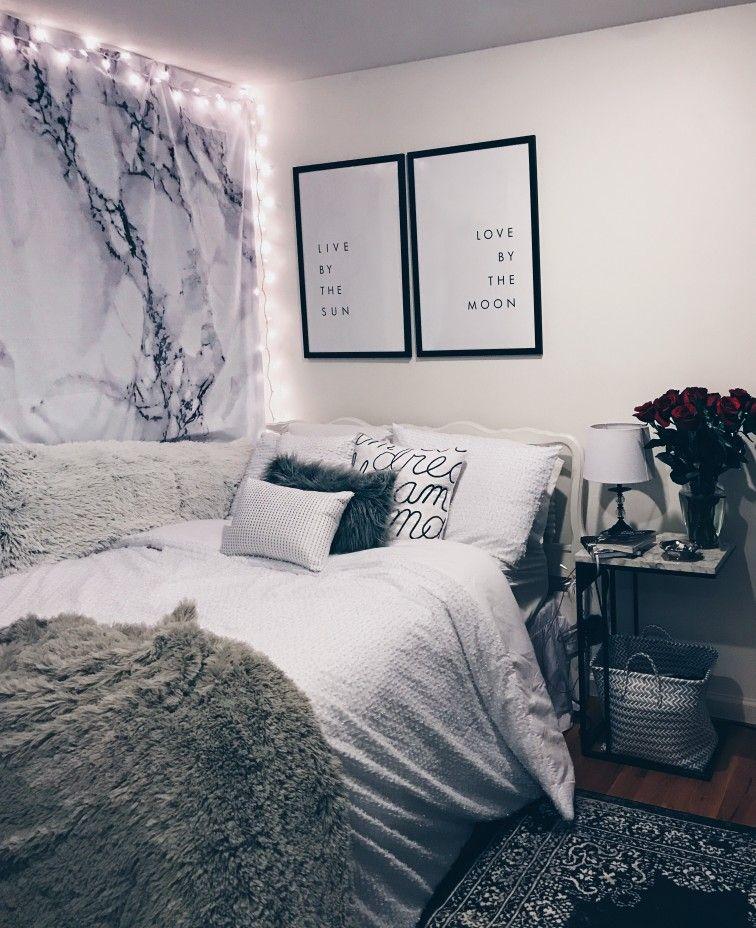 Pin by Maija on Home  Pink bedroom decor, Bedroom decor, Woman