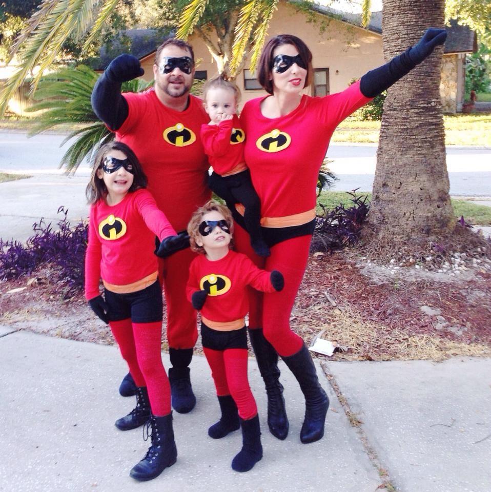 An Incredible Weekend Easy Diy Incredibles Family Costume