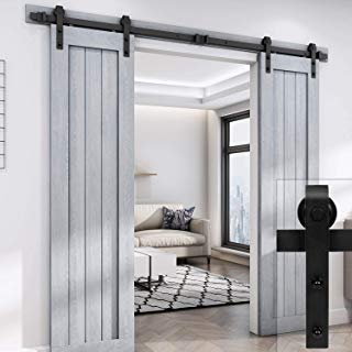 Amazon Com Barn Door Hardware Tools Home Improvement Diy Sliding Barn Door Diy Barn Door Barn Doors Sliding