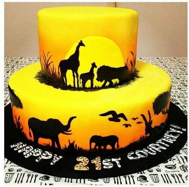 Lion King Lion King Cakes Lion Cakes Silhouette Cake