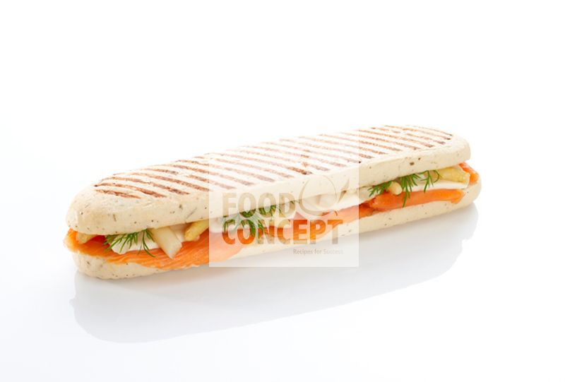 Panini salmon asparagus