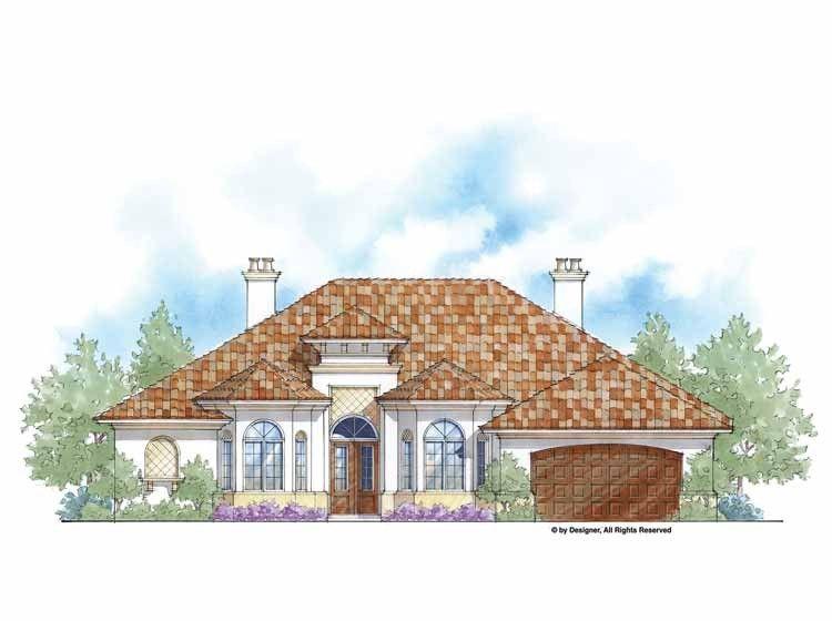 Eplans Mediterranean House Plan Net Zero Energy Home Plan 2680