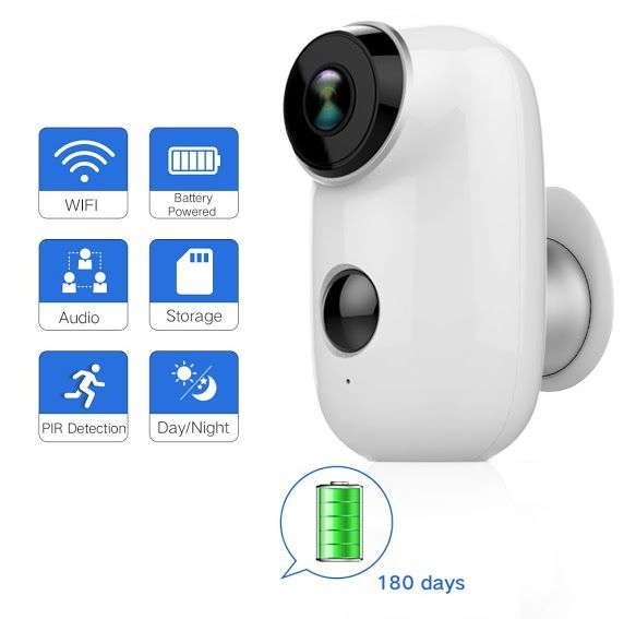 New Review Sdeter Outdoor Security Camera Wireless Rechargeable Battery Powered Surveillance System Wifi Ip Hd Cctv Video House Monitor Sdeteroutdoorsecurity