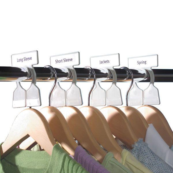 Exceptionnel Simple Division Closet Rod Organizers Closet Rod, Master Closet, Tiny Closet,  Closet Space