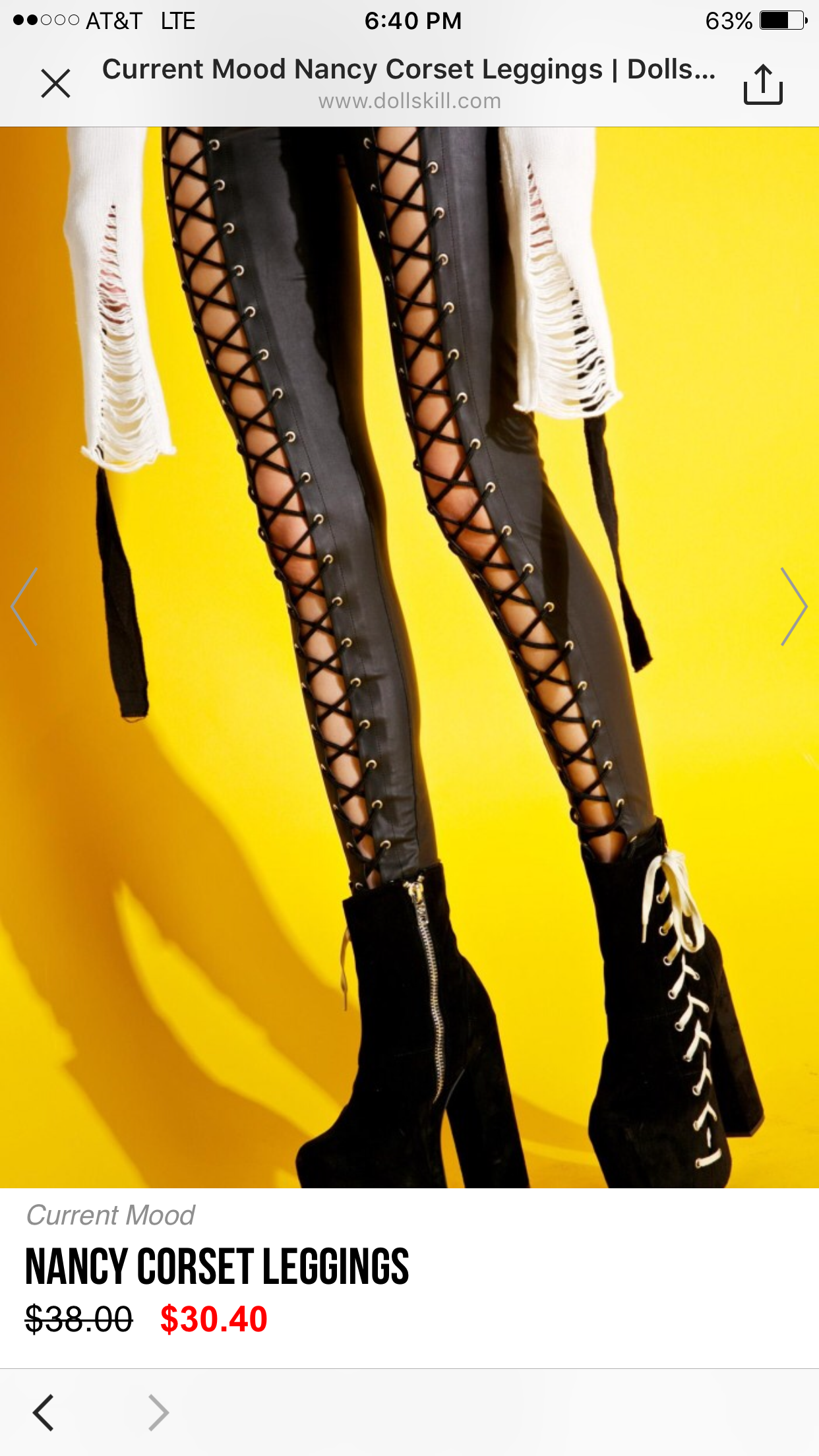 Current Mood Nancy Corset Leggings Are Screamin Sex These Insane