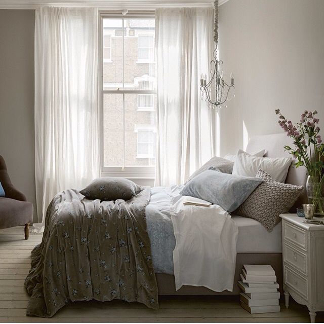 Grey/blue/shabby/sheek   French country bedrooms, Fresh ...