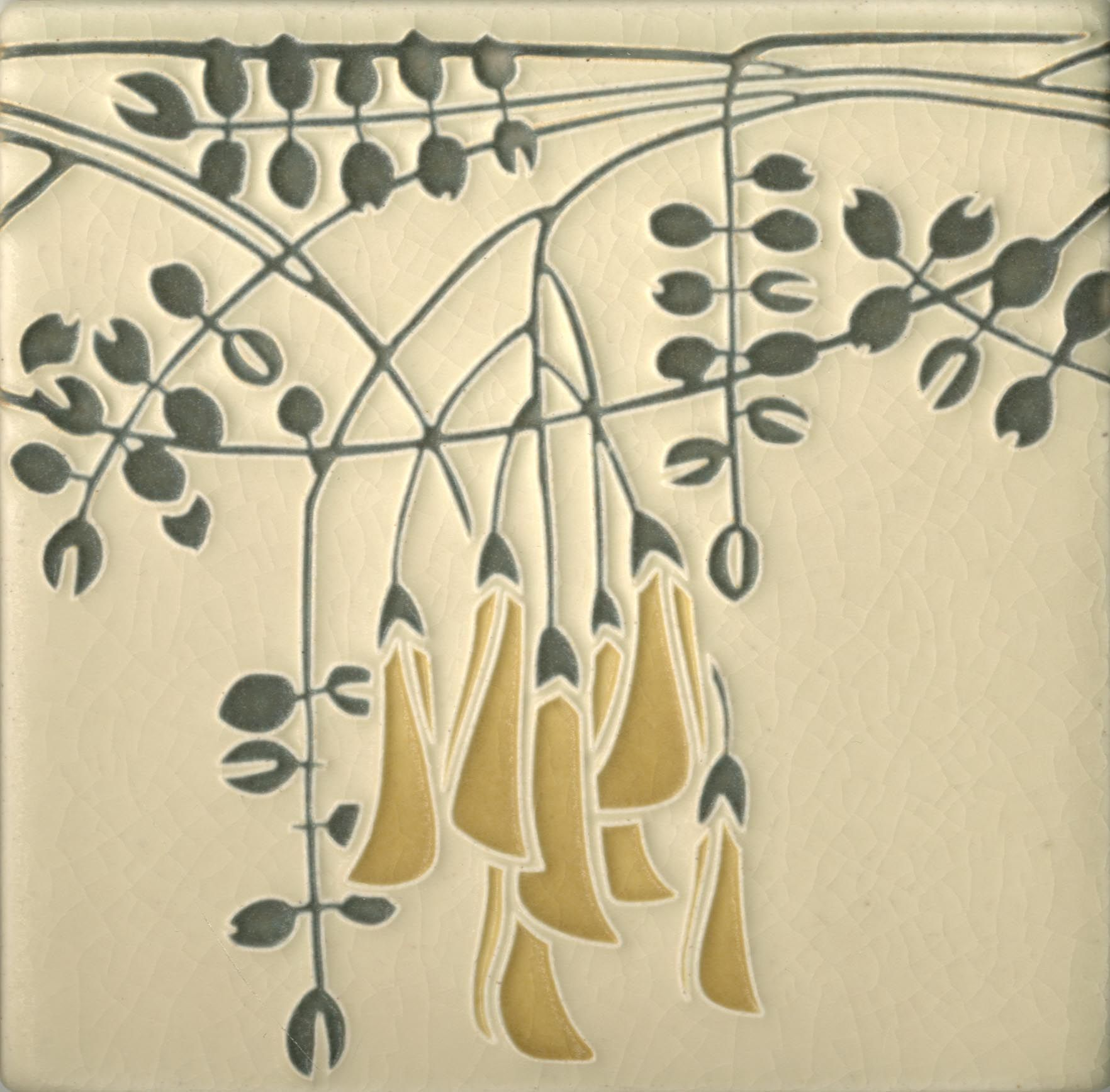 6x6 flora in charcoal by motawi tileworks florals pinterest tile o phile flora in charcoal by motawi tileworks would make a lovely frieze dailygadgetfo Image collections