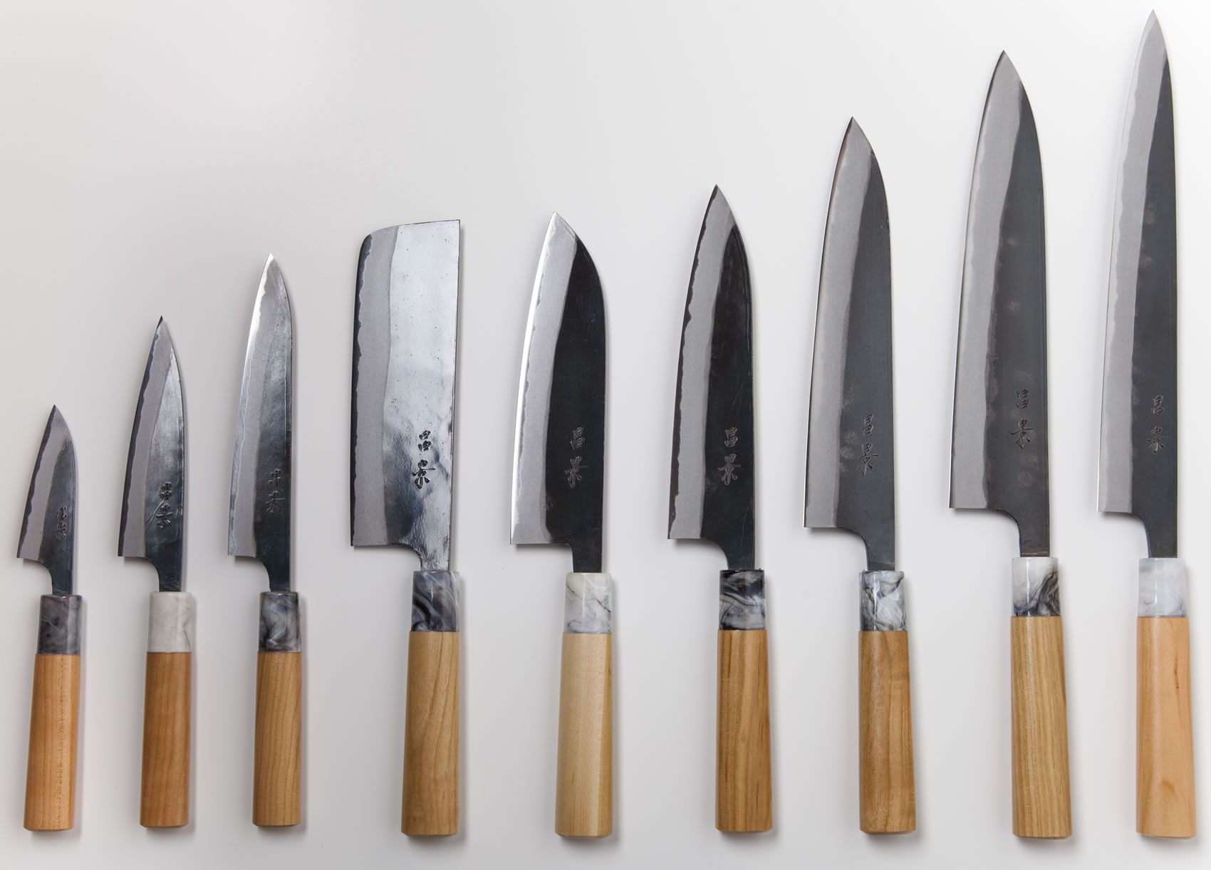 Masakage Mizu Line By Katsushige Anryu Kitchen Knives Japanese Kitchen Knives Knife Shapes