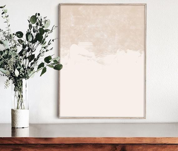 Beige Wall Art Abstract Print Neutral Art Print Minimal Etsy Neutral Wall Art Neutral Art Abstract Art Prints