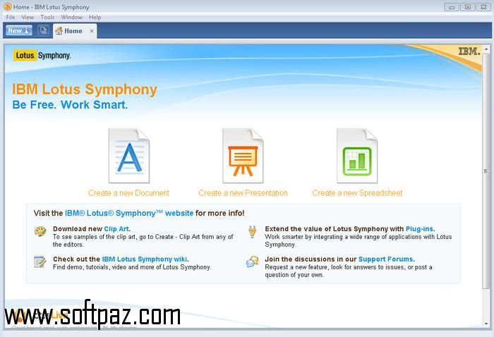 Getting IBM Lotus Symphony setup was never this easy! Download IBM - spreadsheet software