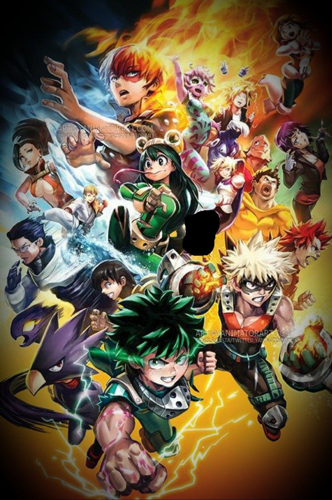 Boko No Hero Academia Hero Poster My Hero Hero Wallpaper