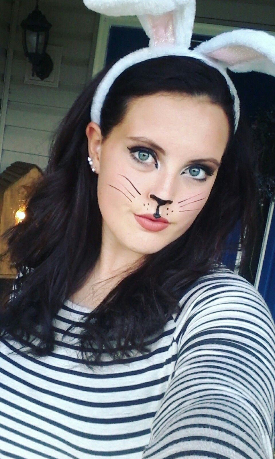 Cute bunny makeup 103116 bunny makeup bunny