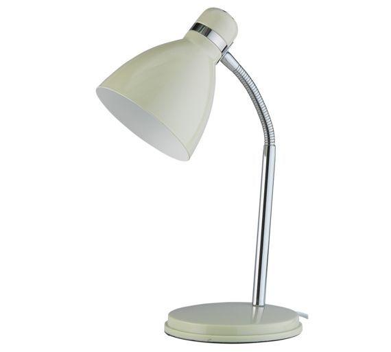 Argos Desk Lamps: Buy ColourMatch Desk Lamp - Cotton Cream at Argos.co.uk - £5.99,Lighting