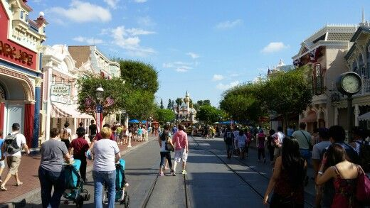 I really need to make coming here an annual thing. Main Street still as beautiful as ever