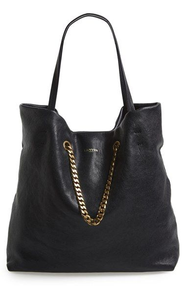 Lanvin Medium Carry Me Leather Tote Available At Nordstrom Wishfulpinning