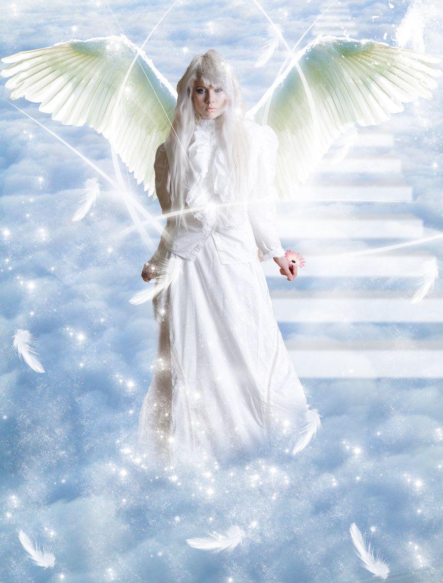 White angel art white angel by lorrainer on deviantart