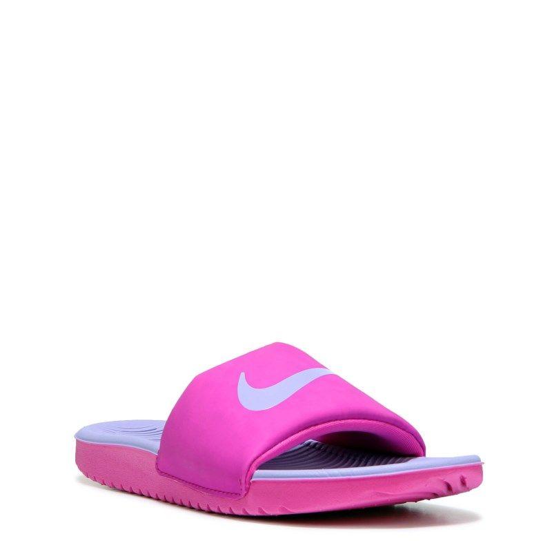14c20297a2d4 Nike Kids  Kawa Slide Sandal Pre Grade School Sandals (Fire Pink Hydrangea)  - 11.0 M