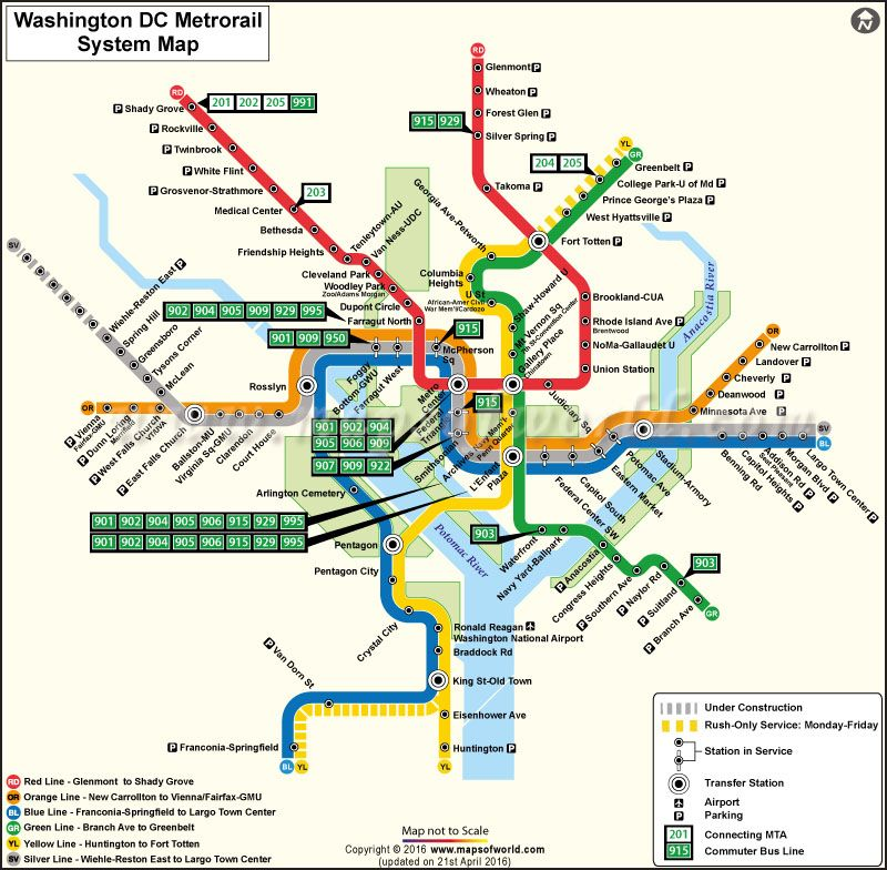 Real Dc Subway Map.Download Washington Dc Metro Map Highlights The Station In