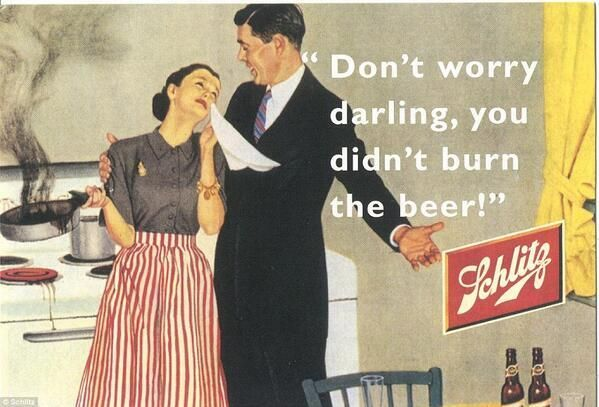 Awesome retro beer ad! C. 1950