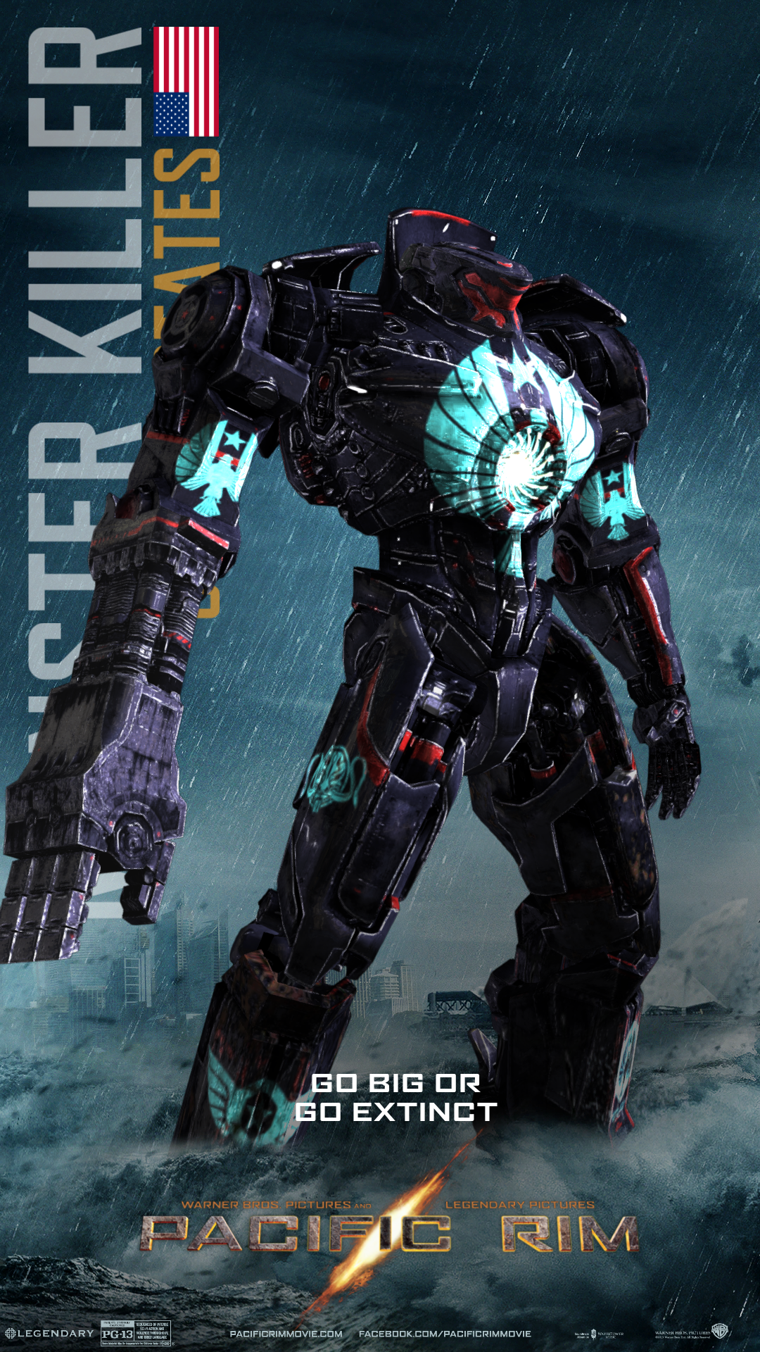 #PacificRIM #Robot #Movie #Contest #Vote #FacebookContest ... Pacific Rim Robots Names