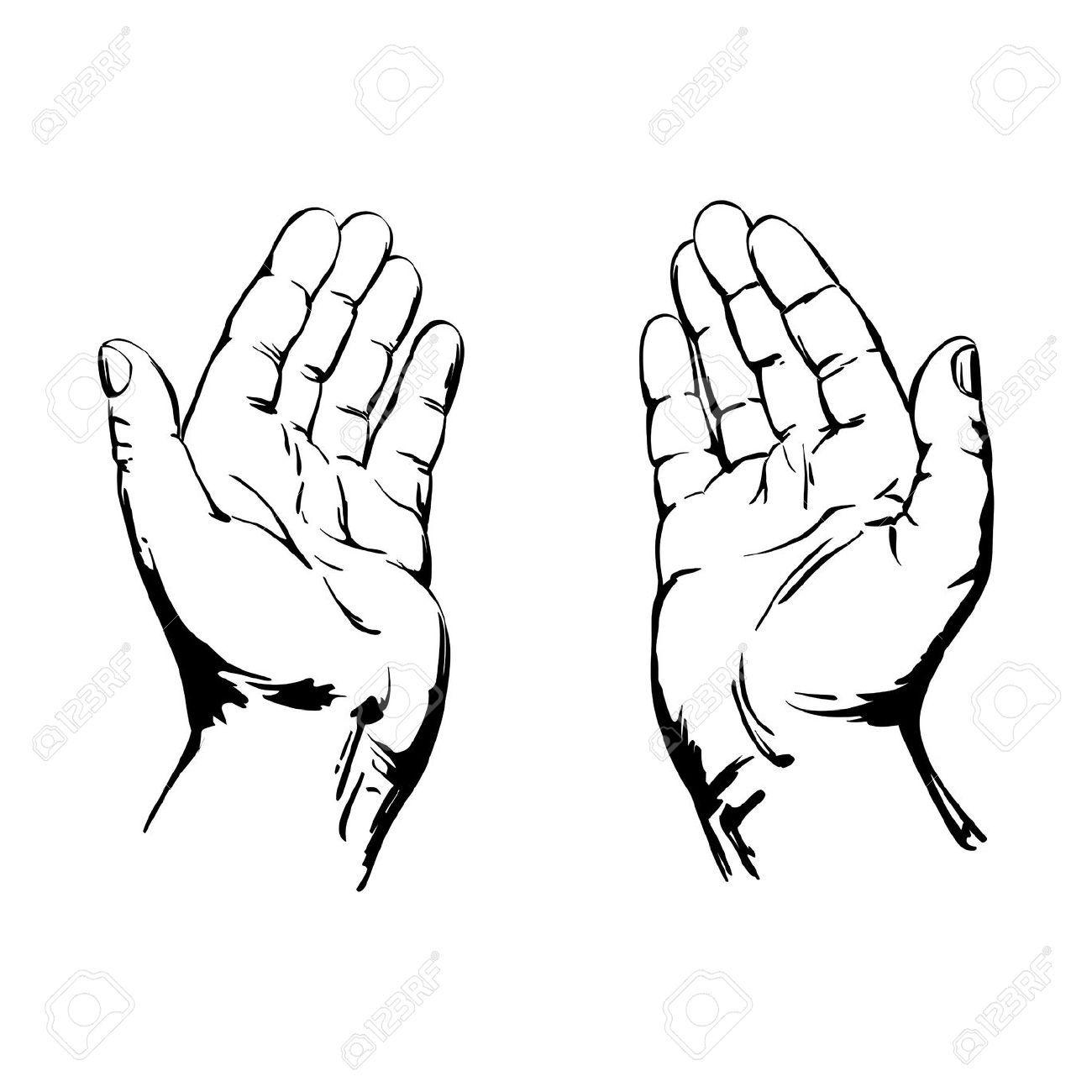 18059794 Praying Hands Stock Vector God Hand Jpg 1300 1300 Praying Hands Drawing Praying Hands How To Draw Hands