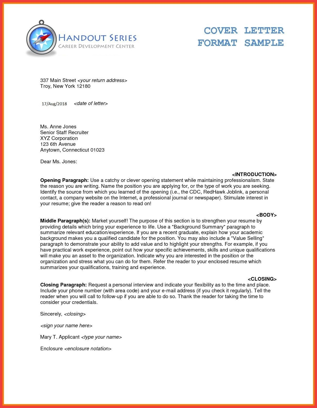 Business Letter Template Word Luxury Free Business Letter