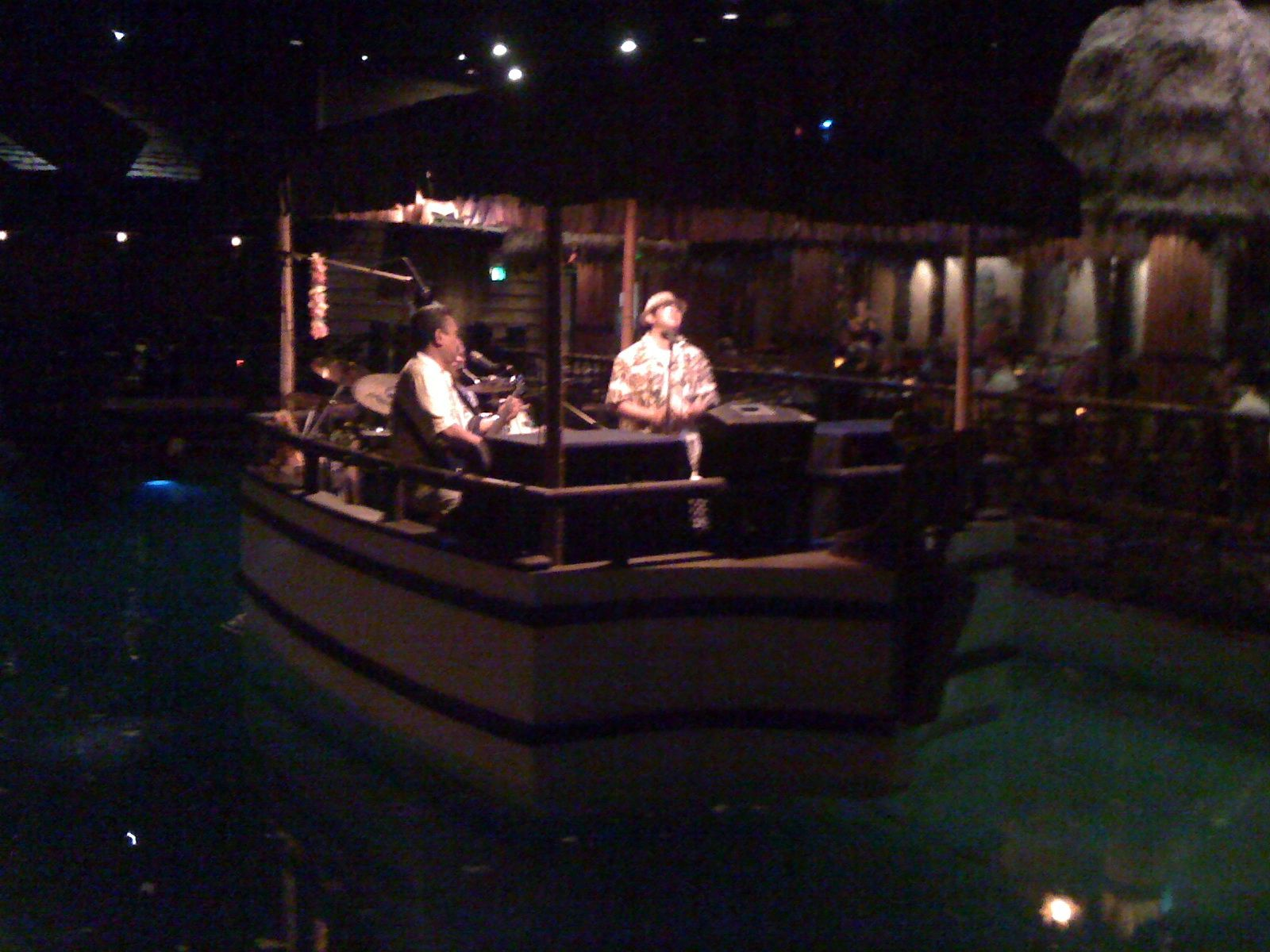 From the Tonga Room in San Francisco Totally awesome