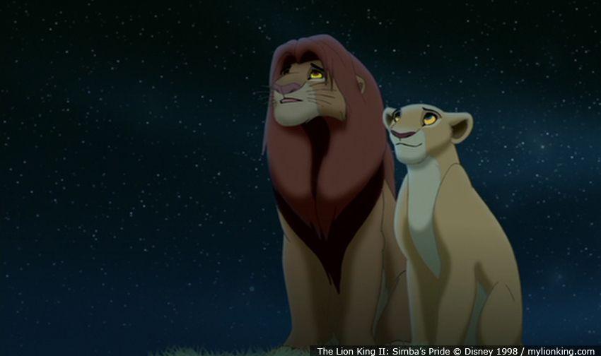 kiara u0026 39 s parents  king simba and queen nala