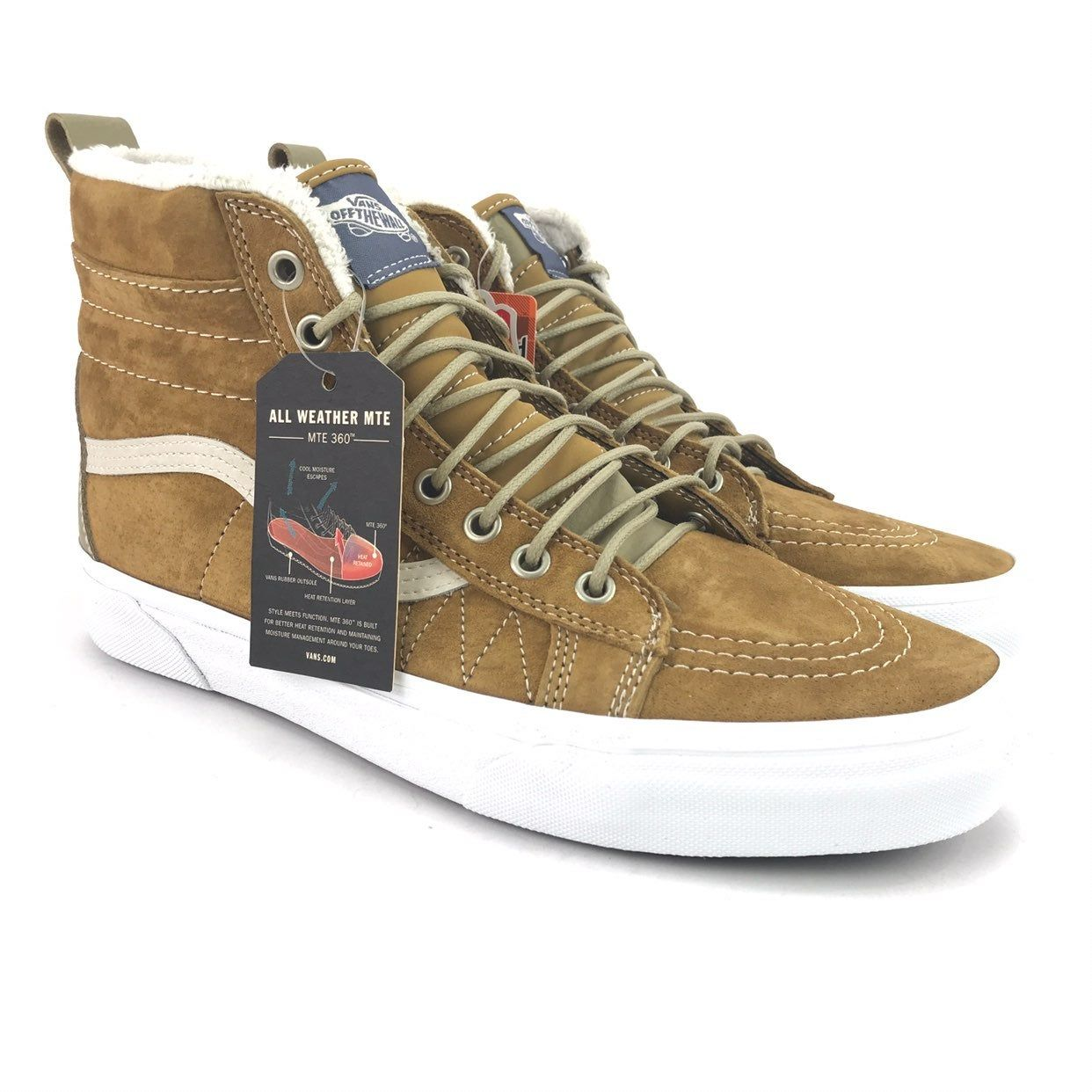 Vans Mens SK8 HI MTE Cumin Shoes Sz 11