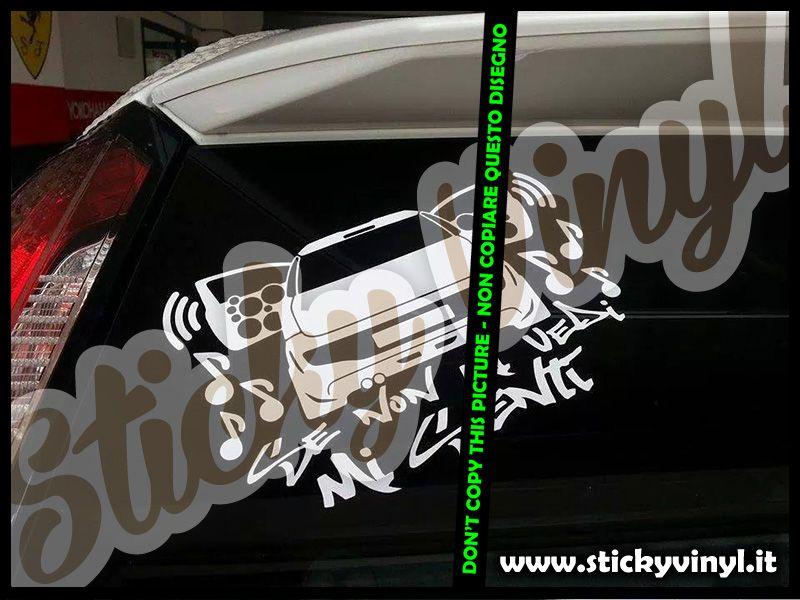 Adesivi Stickers Decals Tuning per auto a partire da 2 euro. www.adesivituning.eu