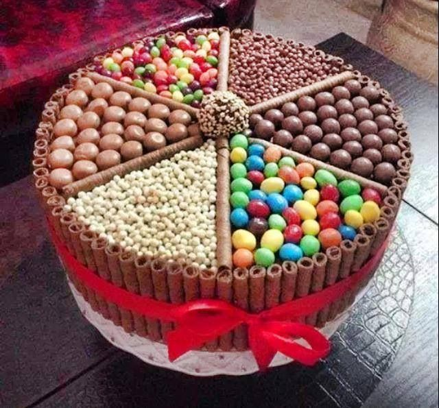 Store Bought Cake With Own Decorations Easy Food Pinterest