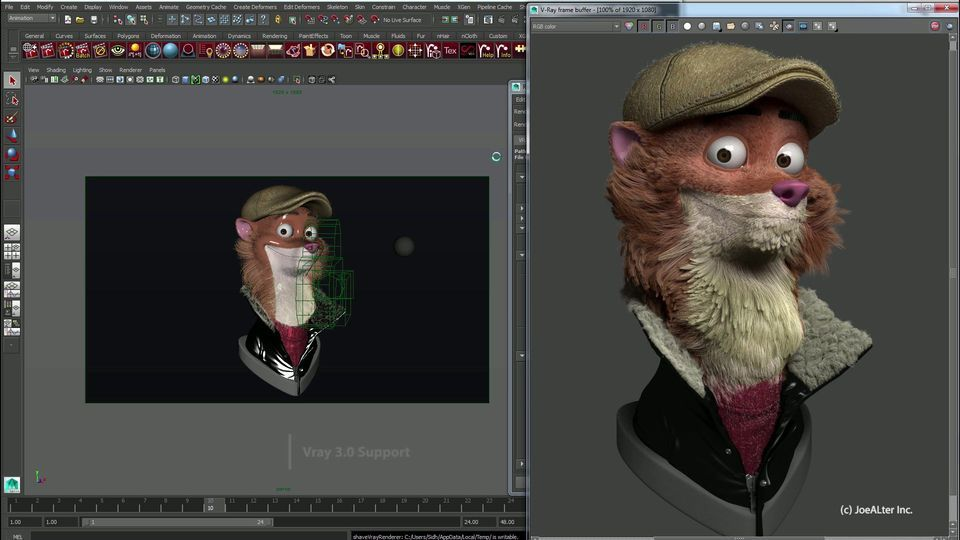 Shave And A Haircut 9 0 For Autodesk Maya