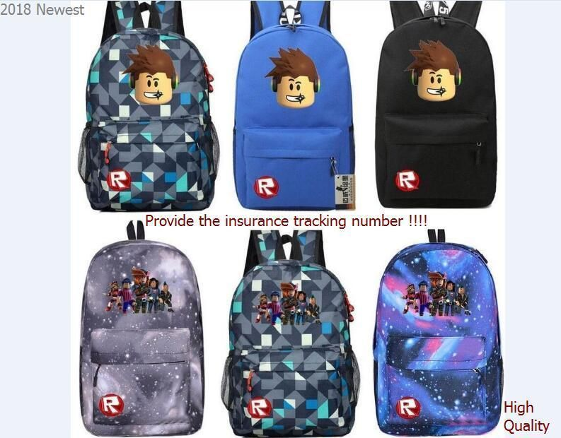 Roblox Backpack Kids School Bag Students Bookbag Handbags Travelbag Shoulder Bag