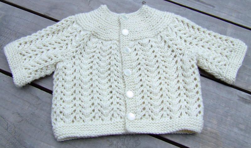 5 Hour Baby Sweater Pattern Bev S Country Cottage