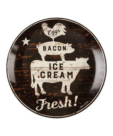 Another great find on #zulily! \u0027Fresh!\u0027 Decorative Plate #zulilyfinds  sc 1 st  Pinterest & Another great find on #zulily! \u0027Fresh!\u0027 Decorative Plate ...