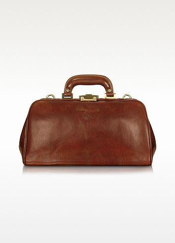 337538776dfa Chiarugi Handmade Brown Genuine Leather Doctor Bag