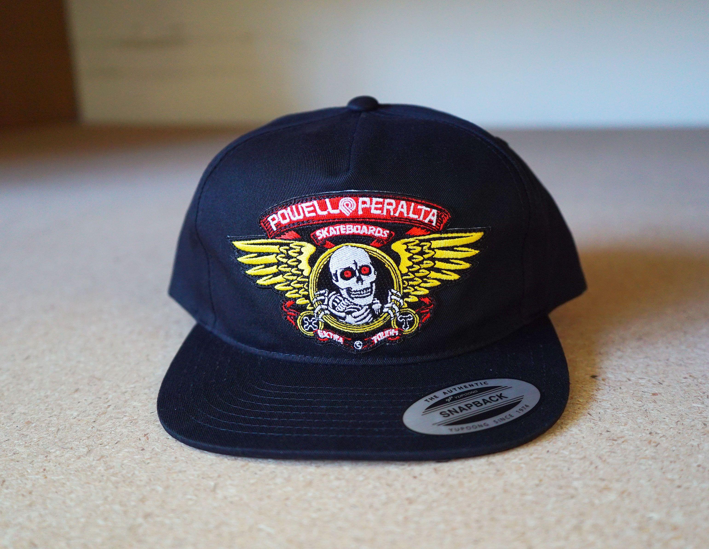 Powell Peralta RAT BONES Skateboard Trucker Hat