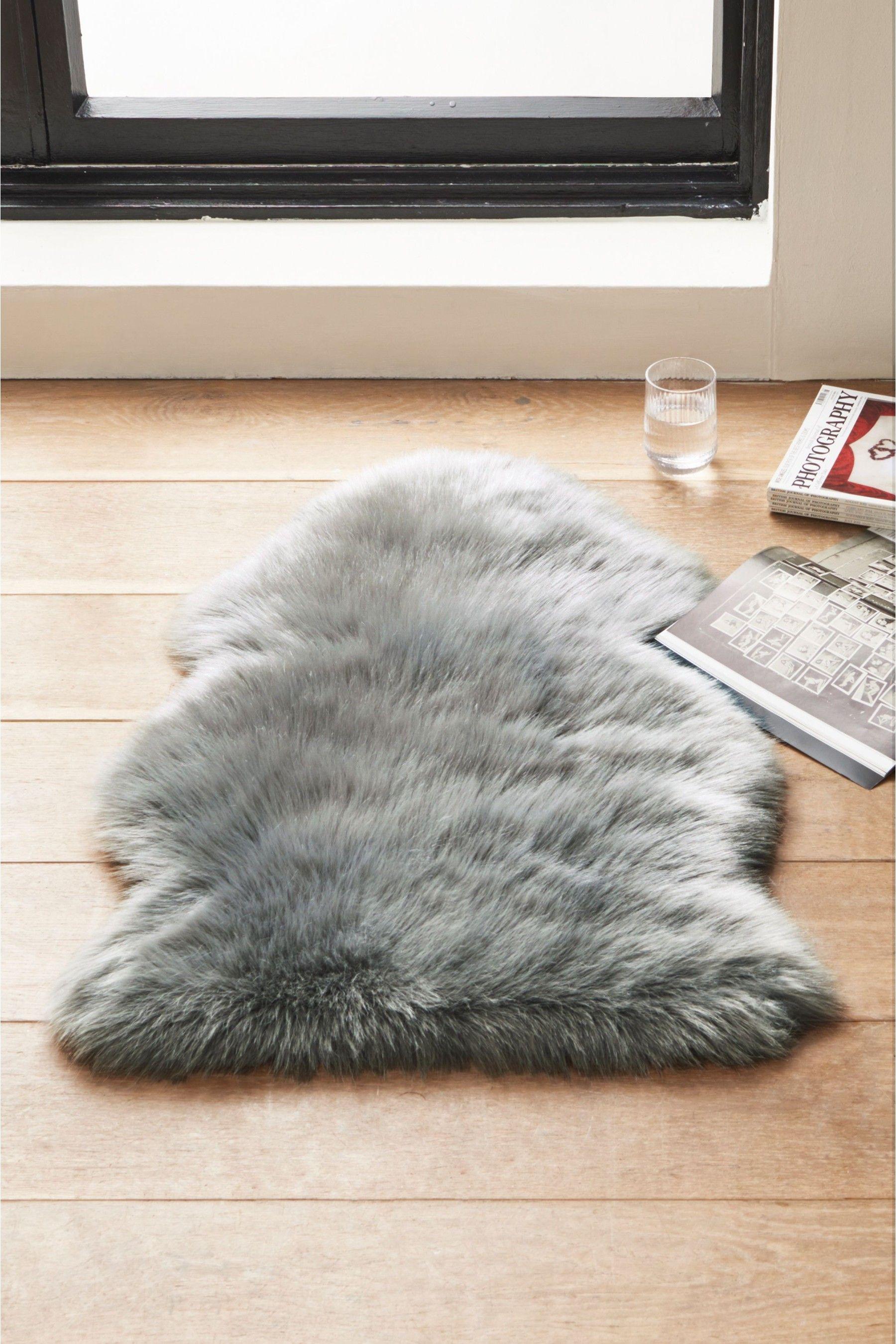 Next Faux Fur Sheepskin Rug Grey Faux Sheepskin Rug Faux Fur Rug Fur Rug [ 2700 x 1800 Pixel ]