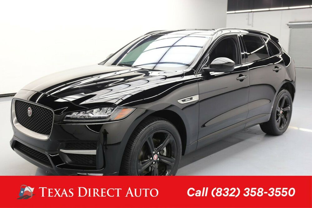 2017 Jaguar F Pace 20d R Sport Texas Direct Auto 2017 20d R Sport Used Turbo 2l I4 16v Automatic Awd Suv Jaguar Diesel For Sale Vehicle Shipping