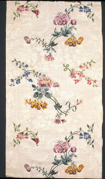 Dress fabric | Garthwaite, Anna Maria | V&A Search the Collections, silk, 1749