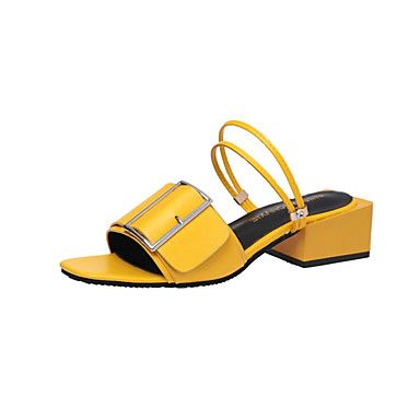 Shoes For Women Leather Flat Heel Slingback Toe Ring Comfort Sandals Dress Casual Black Yellow White